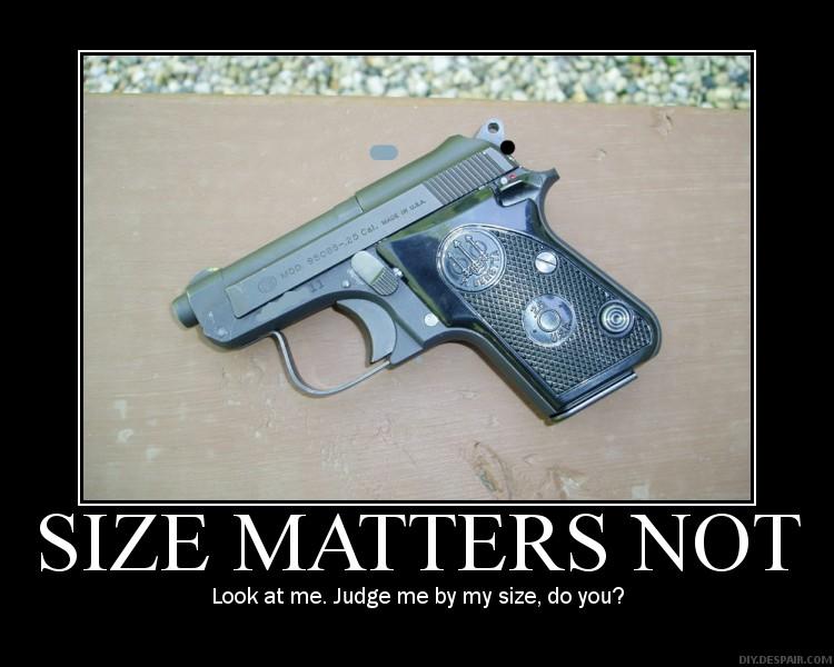 size matters not
