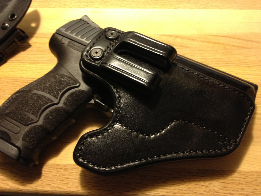 Front view of the 5 shot SME...note the quality of the belt loop.